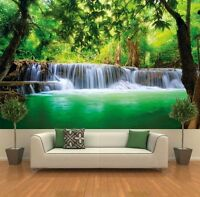 Paradise Photo Wall Paper - Waterfall In The Jungle - Jungle River Kanchanaburi on sale