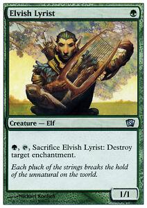 2x-Lyrical-Elvish-Elvish-Lyrist-MTG-MAGIC-8E-8th-Edition-Eng-Ita