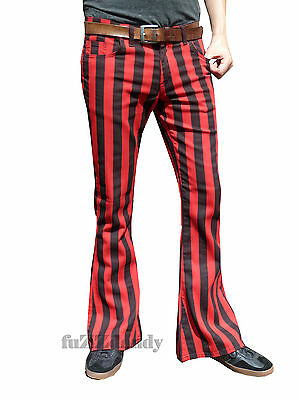 Summer Plus Size Baggy Pants Women Cotton Wide Leg Striped ... |Hippie Striped Pants
