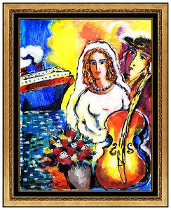 Zamy-Steynovitz-Original-Oil-Painting-On-Canvas-Signed-Portrait-Seascape-Artwork