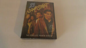 21 Jump Street: The Complete Fourth Season - DVD/2009/4-Disc Set - NEW/Sealed!