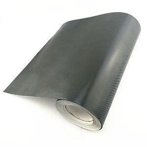 3D-Fibra-de-Carbono-Pegatina-de-vinilo-Coche-Envoltura-Interior-Tablero-ventilaciones-de-aire-30-X