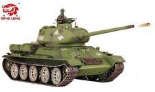 1c56844005ec Heng Long Radio Remote Control RC Tank T34 Platinum 1 16 All Metal Road  Wheels