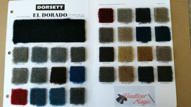 "Plush Cut Pile Automotive Carpet by the yard  40"" wide    29 Colors"
