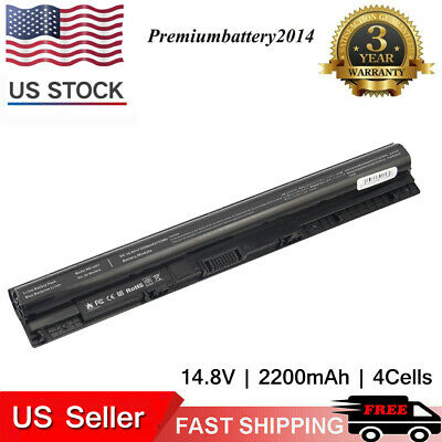 M5Y1K Battery for Dell Inspiron 15 5000 Series 5555 5558 5559 5566 5758 3567 3551 3552 3558 14 3451 3452 3458 5458 17 5755 5758 5759 GXVJ3 HD4J0 WKRJ2 VN3N0 453-BBBP P51F P47F P63F P64G 14.8V 40Wh