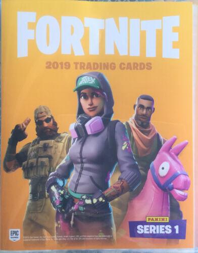 Panini FORTNITE Serie 1 Trading Cards Sammelordner