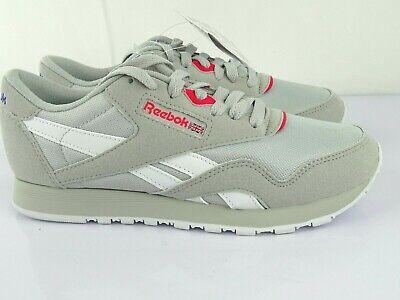 obturador Contribución suspicaz  Reebok Classic Nylon Slim Women's Sneaker Trainers Leather Size 37 | eBay
