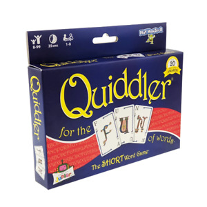 Quiddler Card Game NEW
