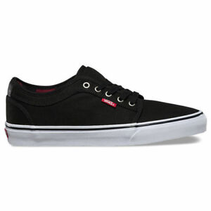 6bccbf11a9 Vans Chukka Low (Flannel Black Chili Pepper) Shoes Youth Size 3.5 ...