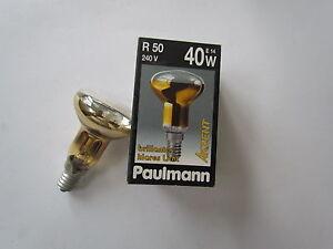 Paulmann-Luz-de-oro-Lampara-reflector-R50-E14-40W-240V-Brillant-Claro