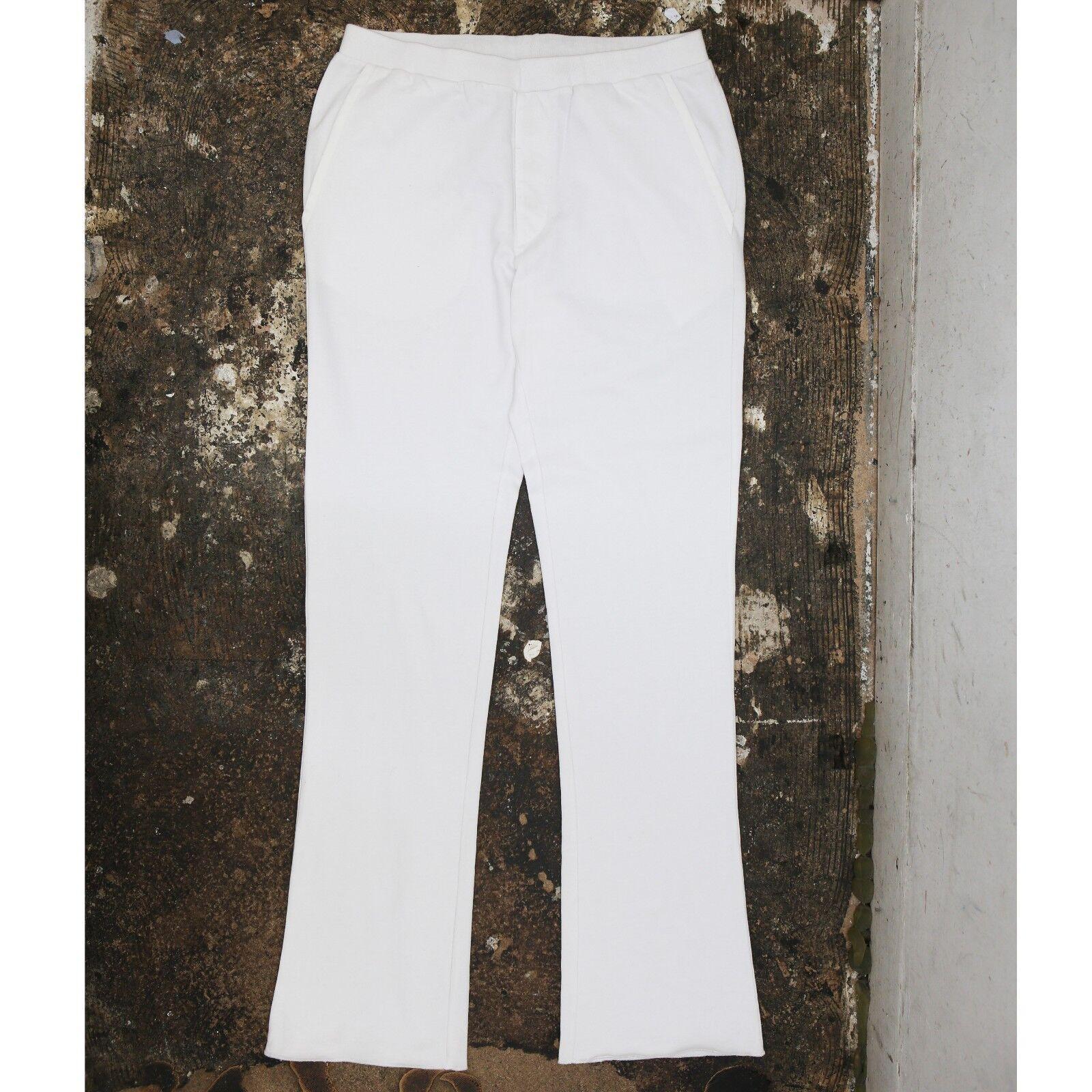 NUEVO Prada Linea Rossa whiteo Pantalones De Chándal Con Etiqueta vintage