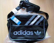 Adidas Mens Vintage Airline Bag/Sac Black/Met Silver BNWT Limited Edition Retro
