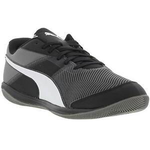 c80559458aa Puma Nevoa Lite V3 Mens Black Indoor Football Boots Trainers Size UK ...