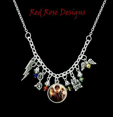 ~HARRY POTTER STATEMENT CHARM NECKLACE~