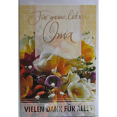 Glückwunschkarten Muttertag Vatertag Oma mit Umschlag hochwertig