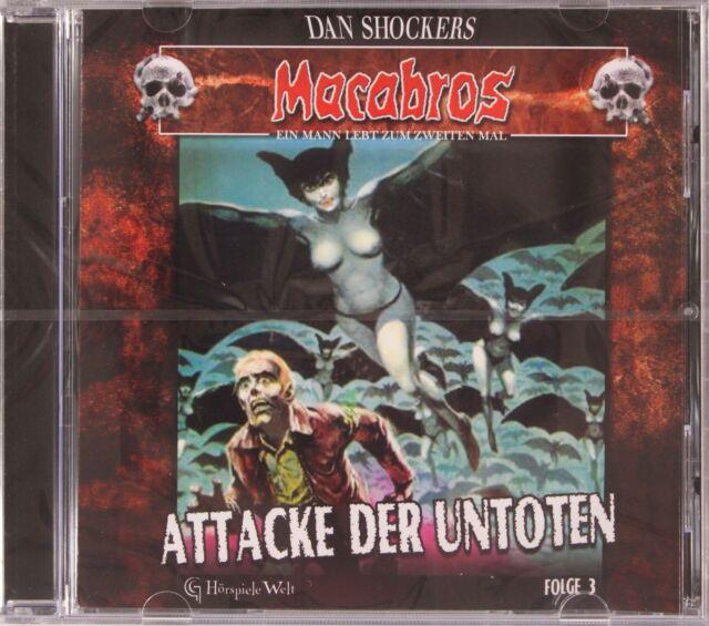 Attacke der Untoten - Folge 3 - Macrabos - Hörbuch - HB1009
