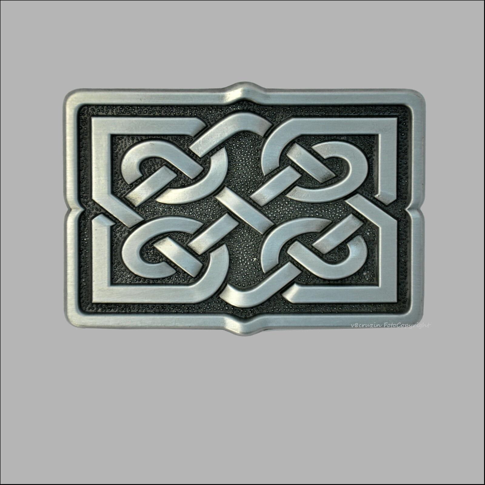Celtic Knot Belt Buckle Ornament Gürtelschnalle Mittelalter Design Gotik *209