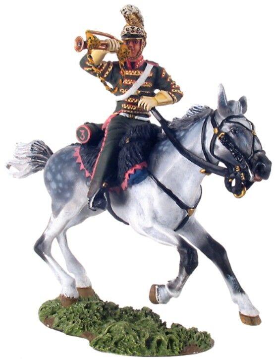 Britains Napoleonisch Französische 36072 3rd Lancers Trompeter  1 MIB