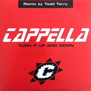 Cappella-CD-Single-Turn-It-Up-And-Down-Remix-By-Todd-Terry-France-VG-VG