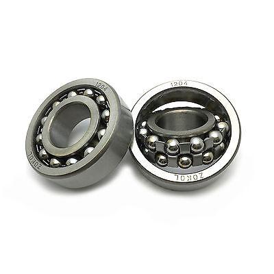 US Stock ATN 1204 20mm x 47mm x 14mm Self Aligning Ball Bearing Double Row