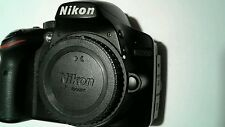 Nikon D D3200 24.2MP Digital SLR Camera - Black (Body Only)