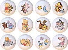 Disney Winnie The Pooh Plastic Handles Drawer Knobs Pulls | eBay
