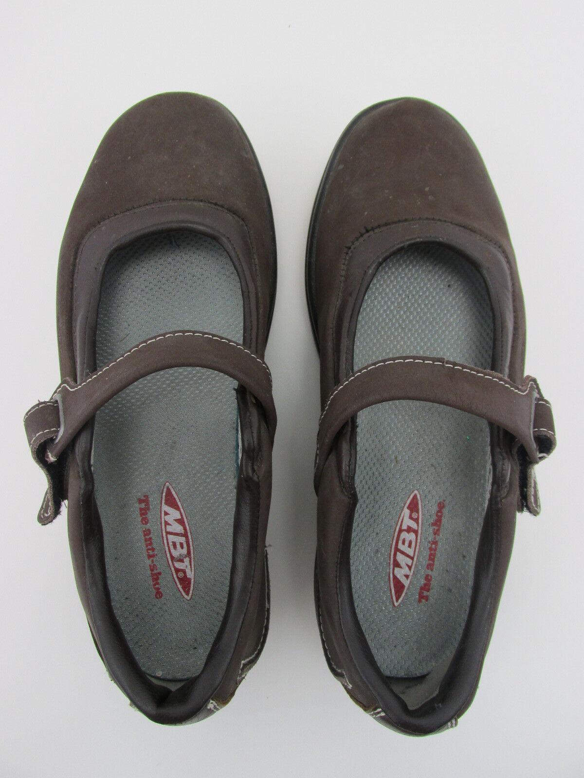 Mbt Kaya Kaya Kaya Mary Janes nubuck marrón zapatos para caminar Para Mujer 10 Eu 41  marcas de moda