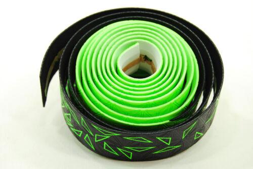 Star Fade Neon Green//Black Supacaz Super Sticky Kush Road Bike Handlebar Tape