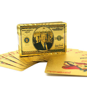 TRUMP-2020-Gold-Poker-Cards-Gold-Plated-Deck-of-Palying-Cards-for-Game-Table