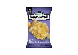 Deep River Snacks Sweet Maui Onion Kettle Cooked Potato