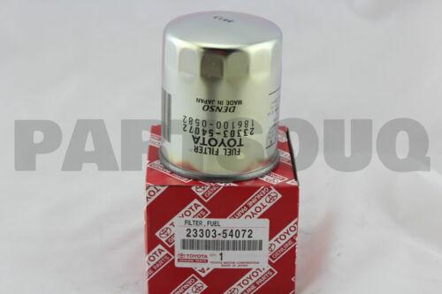 2330354072 Genuine Toyota ELEMENT SUB-ASSY FUEL FILTER 23303-54072