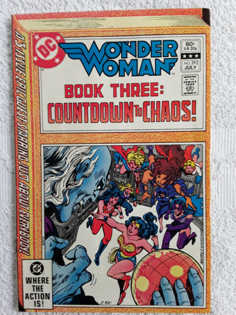 Wonder Woman #293 (Jul 1982, DC) Vol #41 Fine