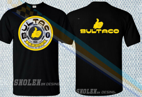 LIMITED BULTACO SHERPA METRALLA SPAIN MOTO OFFROAD RACING SPORT T-SHIRT GILDAN