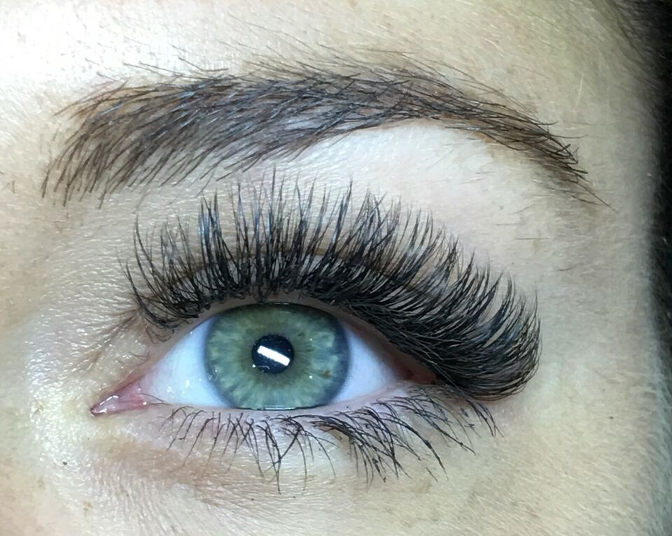 Extensions, Eyelash extension, Single and volume eyelash