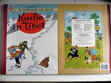 Kuifje in Tibet Facsimile Uitgave