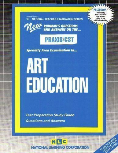 National Learning Corporation-Art Education BOOK NEW