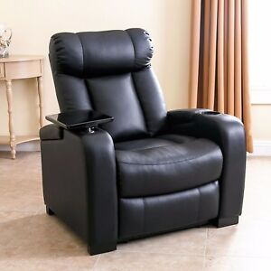 Image Is Loading Contemporary Style Recliner Chair High Quality Bonded