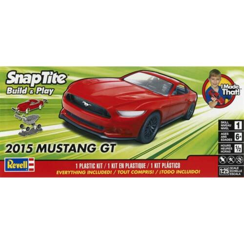Revell 1//25 2015 Ford Mustang GT Red 851694