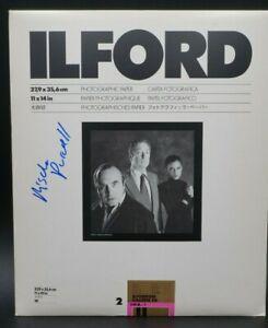 Ilford 11x14 Ilfobrom Galerie FB IG2.1K Darkroom Enlarging Paper   6 Sheets