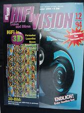 HIFI VISION 12/94. b&w Nautilus, Restek rotore, ONKYO TX-SV 919hx, Sony SS 840 es