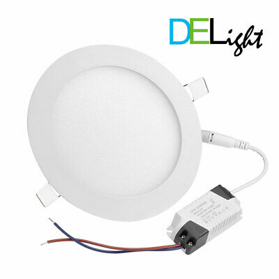 10 Pack 9W 12W LED Recessed Light Ceiling Panel Down Slim ...