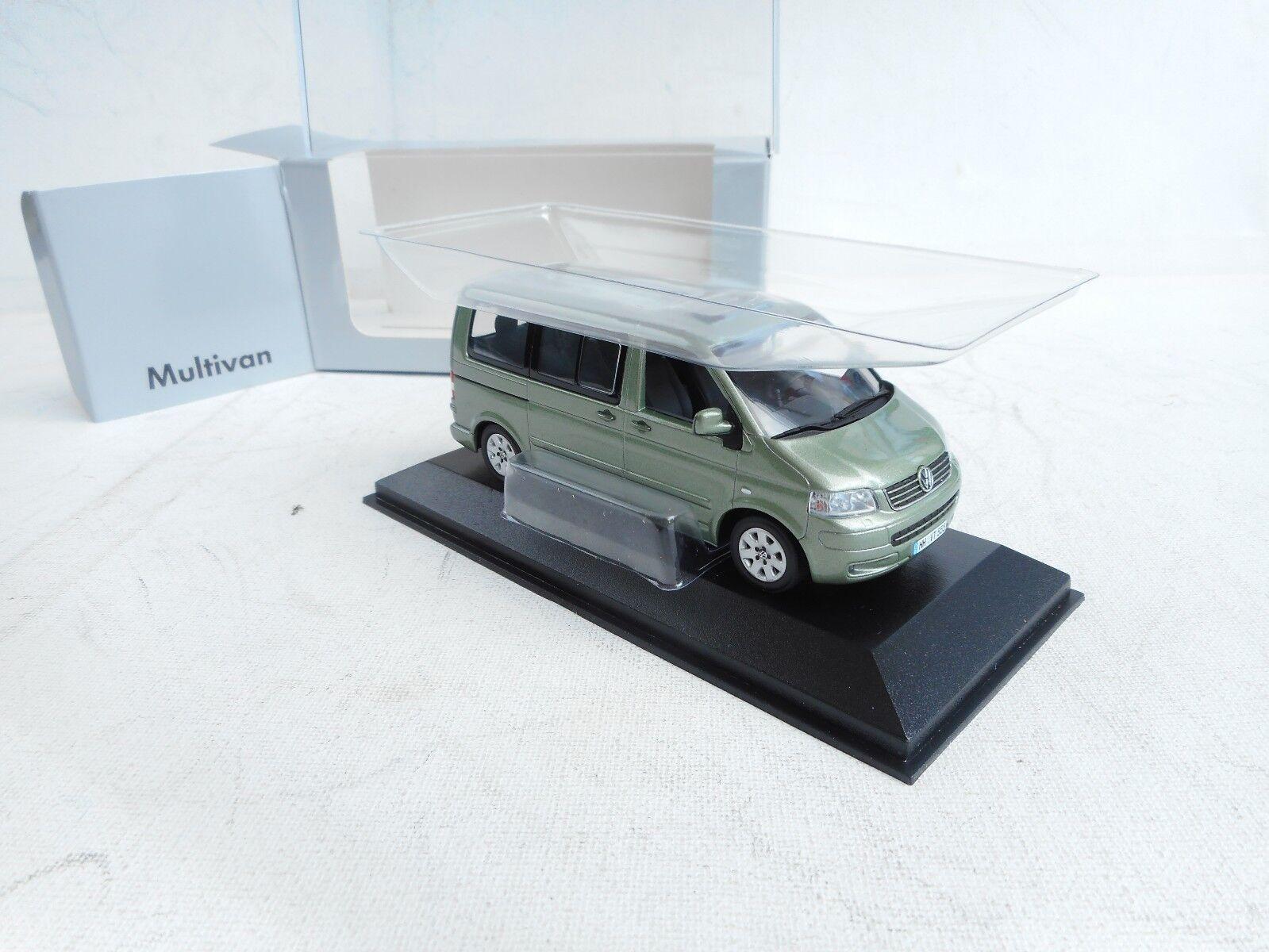 VW Transporter T5 MULTIVAN green métallisé 1 43 VOLKSWAGEN VOLKSWAGEN VOLKSWAGEN NEW OVP dc5d68