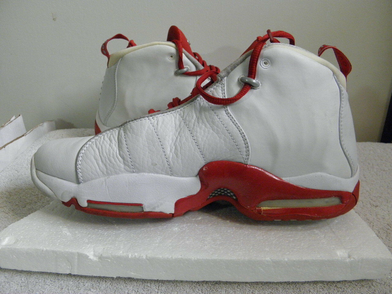 Nike Air Vis Zoom Viszoom Uptempo TB TB TB PE PS Samples size 11.5 white red OG VNDS 5a959c