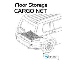 Car Trunk Floor Black Cargo Net Panel Strap Elastic Mesh For Most Pontiac