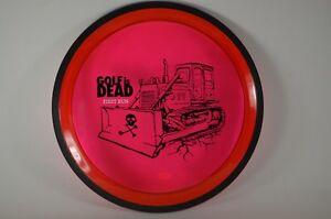 Volt-Proton-175g-1st-Run-Golf-is-Dead-Red-Bulldozer-MVP-New-PRIME-Disc-Golf-Last