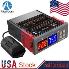 Stc 3028 Ac110v 220v Digital Temperature Humidity Controller Thermostat Probe