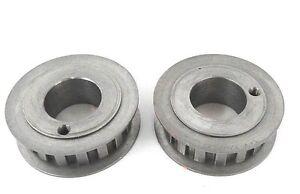 Steel EN8 M201530 2 MOD 2 Ratio 15//30 Teeth Metric Precision Bevel Gears