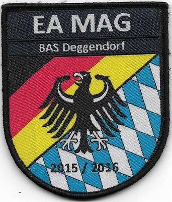 Klett EA MAG BAS Deggendorf Stoffabzeichen BUNDESPOLIZEI ZOLL