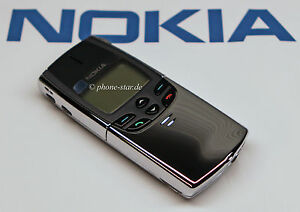 NOKIA-8810-NSE-6NX-SLIDER-HANDY-MOBILE-PHONE-CHROME-MADE-IN-FINLAND-NEU-NEW-SWAP