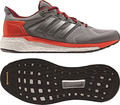 647ab522b adidas Supernova St Mens Grey Silver Support Running Road Sports Shoes  Trainers UK 8 for sale online